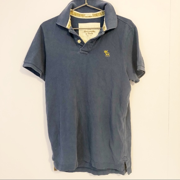 0f764ad0 Abercrombie & Fitch Other - Abercrombie & Fitch Blue Classic Polo Shirt